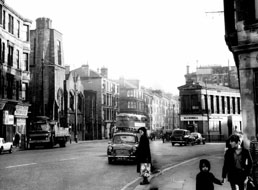 Queen's Cross Glasgow, with Mackintosh church to left