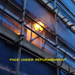 Page under Refurbishment